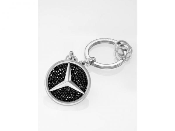 Mercedes-Benz Schlüsselanhänger Saint Tropez Swarovski® schwarz