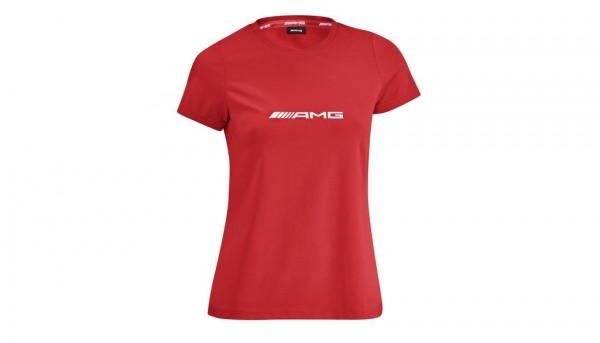 Mercedes-AMG T-Shirt Damen rot