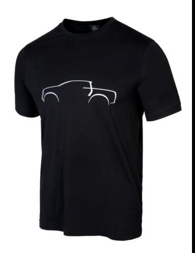 Mercedes-Benz T-Shirt Herren X-Klasse Logo schwarz