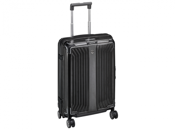 Mercedes-Benz Koffer Lite-Box Spinner 75 Samsonite schwarz