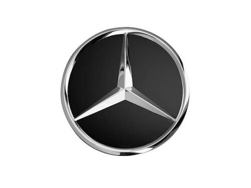 Original Mercedes-Benz Nabendeckel schwarz Stern erhaben B66470200
