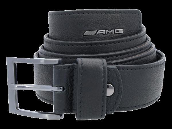 Mercedes-AMG Ledergürtel schwarz