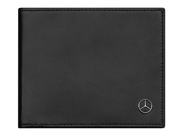 Mercedes-Benz Geldbörse Herren Schwarz Kalbsleder