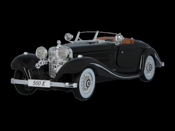 Mercedes-Benz 500 K Spezial-Roadster W 29 (1934-1936) braun Norev 1:18