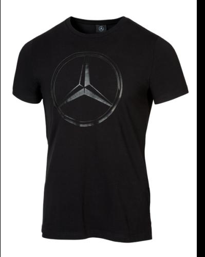Mercedes-Benz T-Shirt Herren Mercedes Stern Logo klein