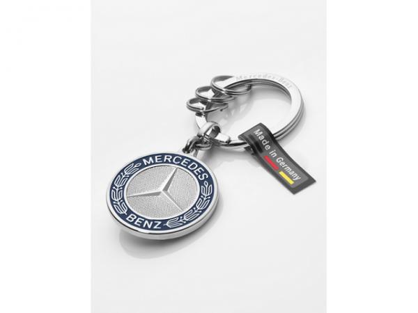 Mercedes-Benz Schlüsselanhänger Stuttgart silber