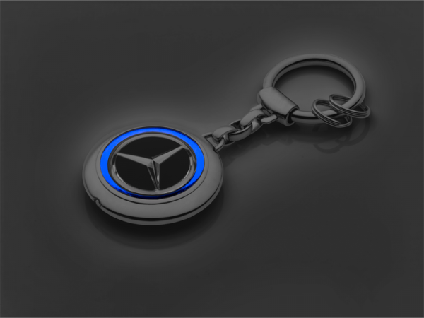 Mercedes-Benz Schlüsselanhänger EQ mit Beleuchtung