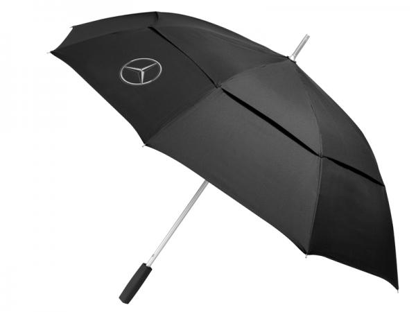 Mercedes-Benz Regenschirm schwarz groß