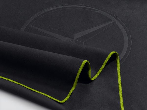 Mercedes-Benz Funktionshandtuch anthrazit/lime