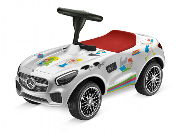 "Mercedes-AMG GT BIG Bobbycar ""Tribute to Bambi"""