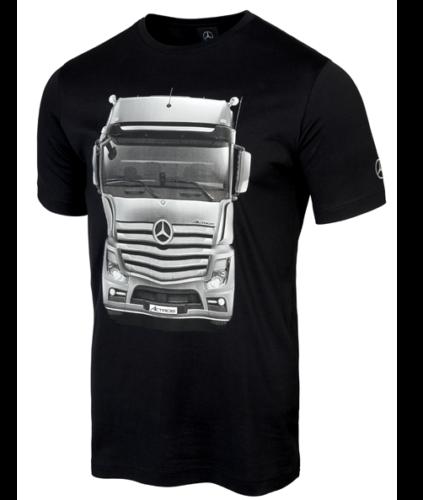 Mercedes-Benz T-Shirt Herren Actros LKW schwarz