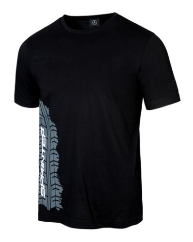 Mercedes-Benz T-Shirt Herren Reifenabdruck Sprinter schwarz