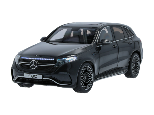 Mercedes-AMG EQC 400 LED Beleuchtung NOREV1:18 graphitgrau