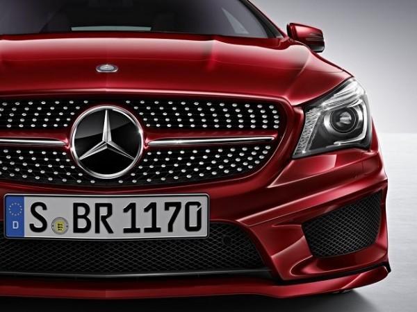 Mercedes-Benz Kühlergrill Diamant CLA C117 X117 2016 (bis Code806) A1178801303