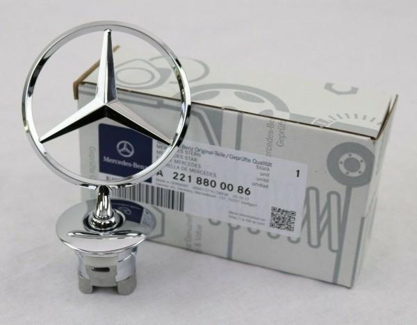 Mercedes-Benz Stern Emblem W210 W126 W211 etc. Chrom