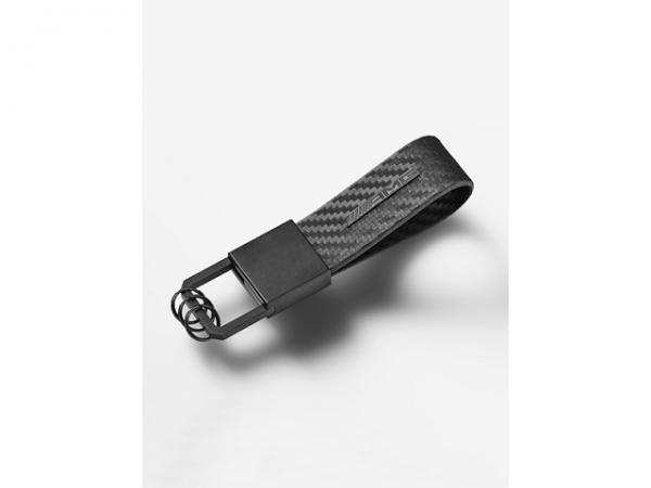 Mercedes-AMG Schlüsselanhänger Carbonleder schwarz