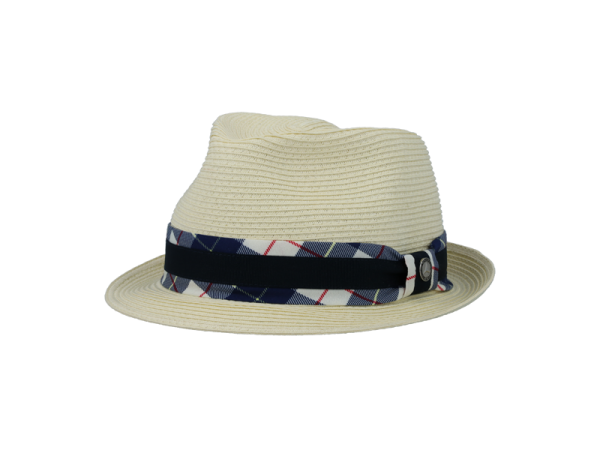 Mercedes-Benz Trilby Hut Classic Collection naturfarben/navy