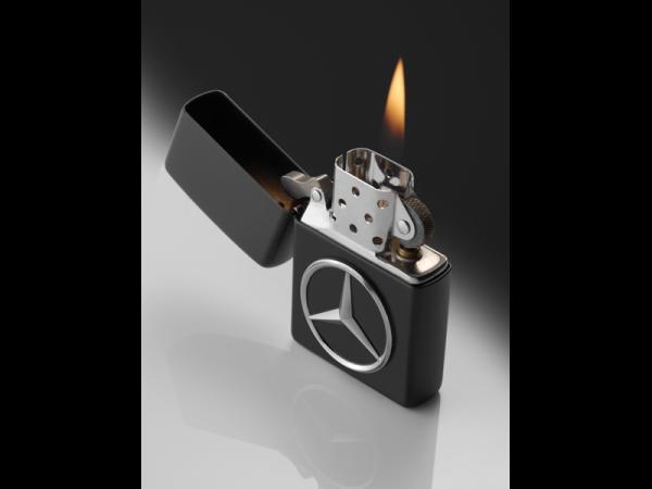 Zippo® Feuerzeug Mercedes-Benz schwarz