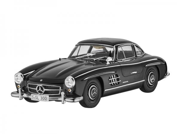 Mercedes-Benz 300 SL Coupé W198 (1954-1957) schwarz 1:18