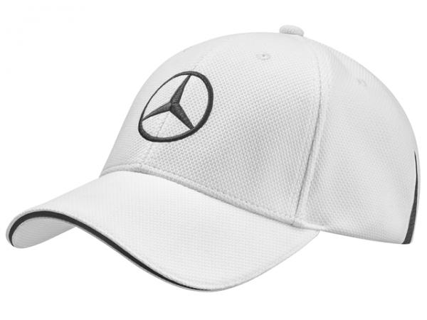 Mercedes-Benz Golf Basecap weiß
