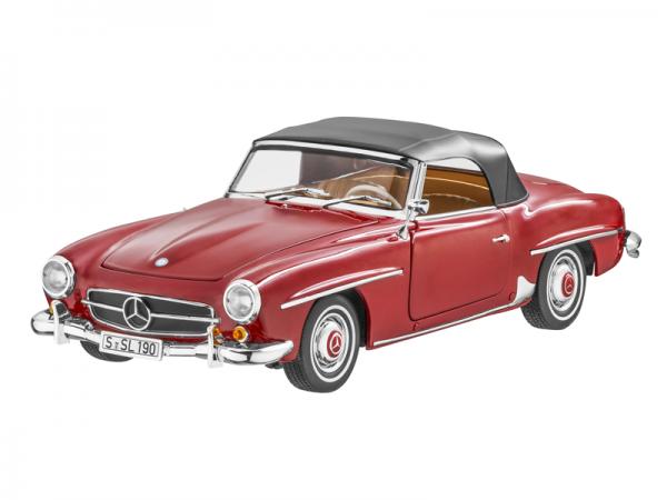 Mercedes-Benz 190 SL W121 (1954-1963) rot 1:18