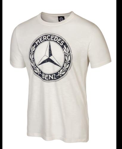 Mercedes-Benz T-Shirt Classic Herren weiß