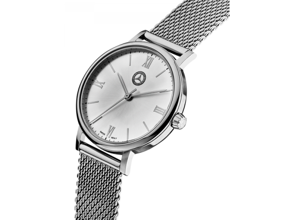 Mercedes-Benz Armbanduhr Classic Damen silber