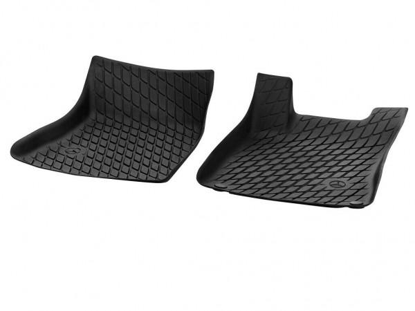 Mercedes-Benz 2tlg Fußraumschalen A-Klasse W177 vorn TPE schwarz A17768032049051