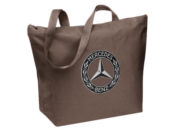 Mercedes-Benz Shopper braun Tasche