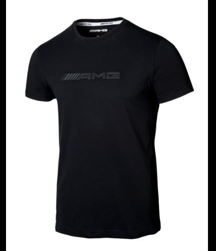Mercedes-AMG T-Shirt Herren AMG Logo schwarz