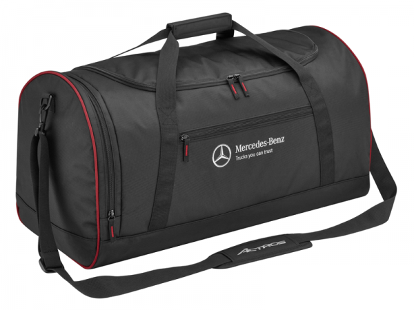 Mercedes-Benz Reisetasche Trucks Collection schwarz/rot