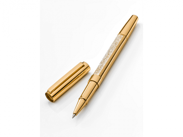 Mercedes Kugelschreiber Kristall Swarovski® roségold