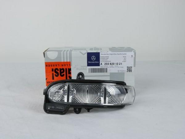Mercedes-Benz W211 S211 Spiegelblinker links A2038201321