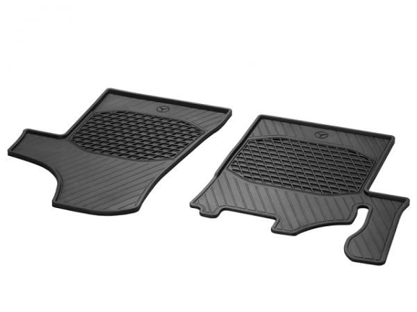 Mercedes-Benz C639 2tlg. Gummimatten Fußmatten vorn Viano Vito A6396804748