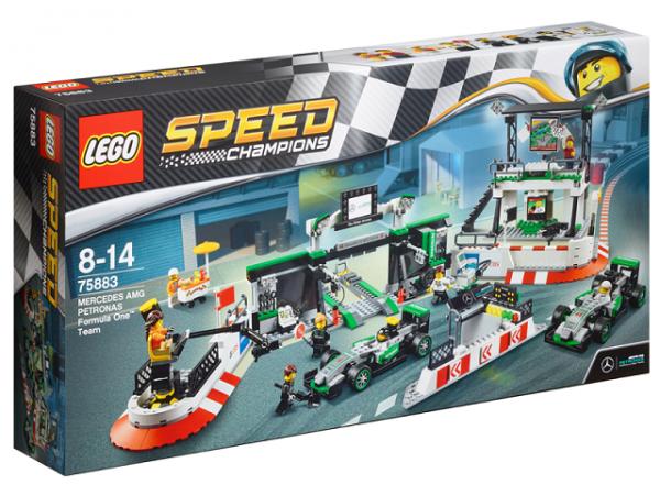 Mercedes-AMG PETRONAS LEGO® Formel 1 Speed Champions Team