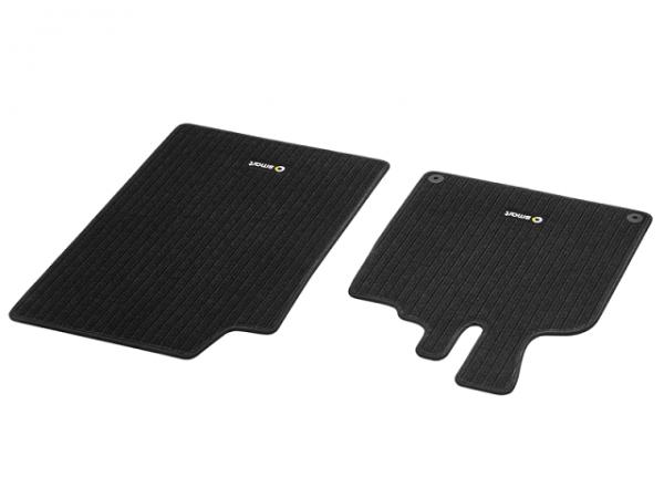 Original smart 451 Ripsmatten 2-teiliges Set Matten Fußmatten