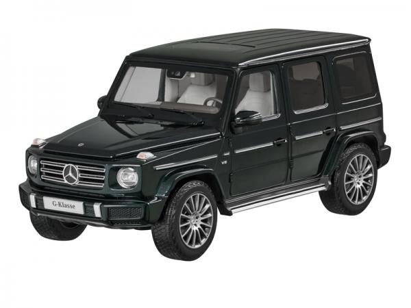 Mercedes-Benz G-Klasse 1:18 Modell smaragdgrün