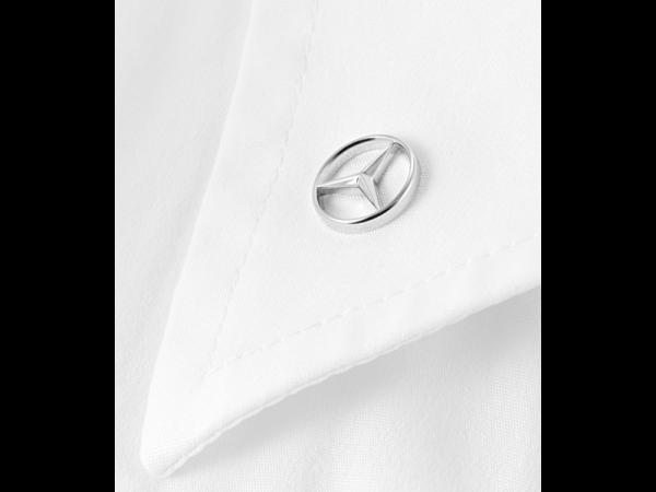Mercedes-Benz Pin Anstecker Mercedes Stern silber Edelstahl