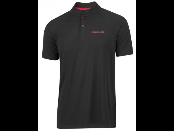 Mercedes-AMG Poloshirt Herren schwarz/rot
