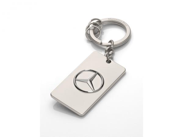 Mercedes-Benz Schlüsselanhänger Trucks silber