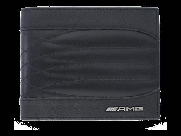 Mercedes-AMG Geldbörse Rindleder schwarz