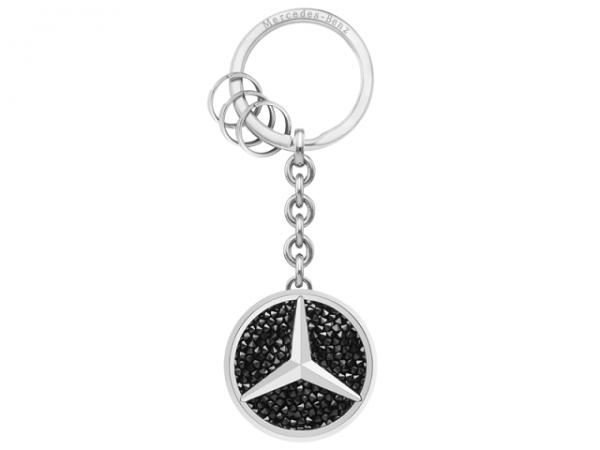 Mercedes-Benz Schlüsselanhänger Saint Tropez Swarovski® schwarz B66952740