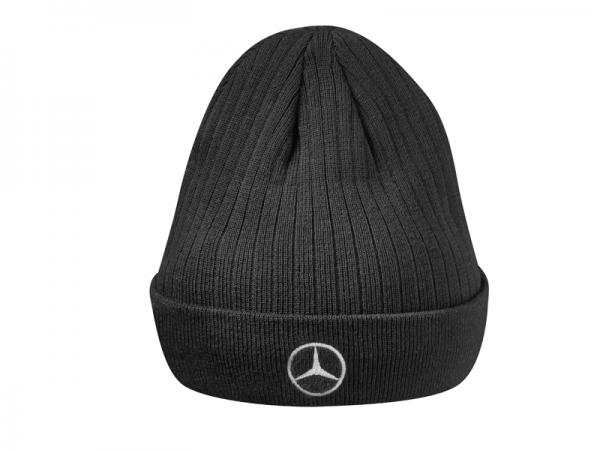 Mercedes-Benz Strickmütze Actros schwarz