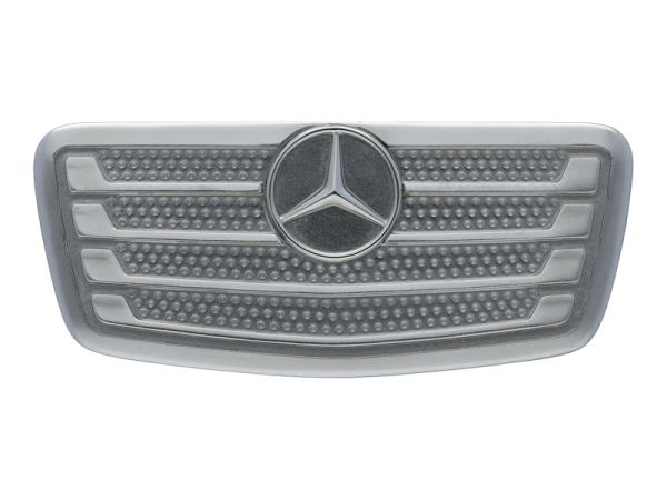Mercedes-Benz Pin Anstecker Actros Kühlergrill silber