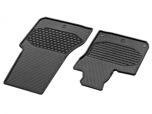 smart 453 Allwettermatten 4-tlg Set Gummi Fußmatten vorn + hinten Fond
