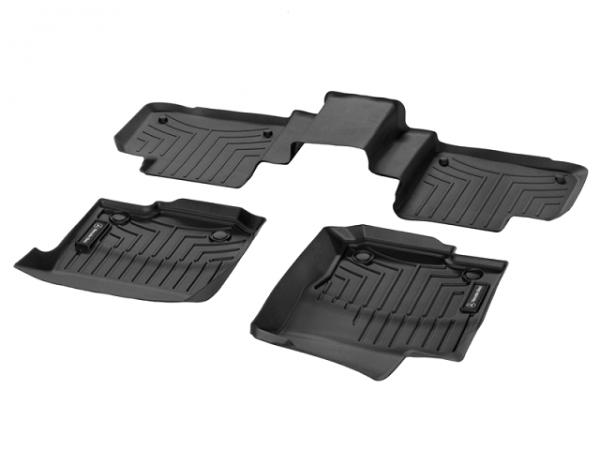 Mercedes-Benz Fußraumschalen Gummimatten ML GLE Klasse W166 A16668035019051