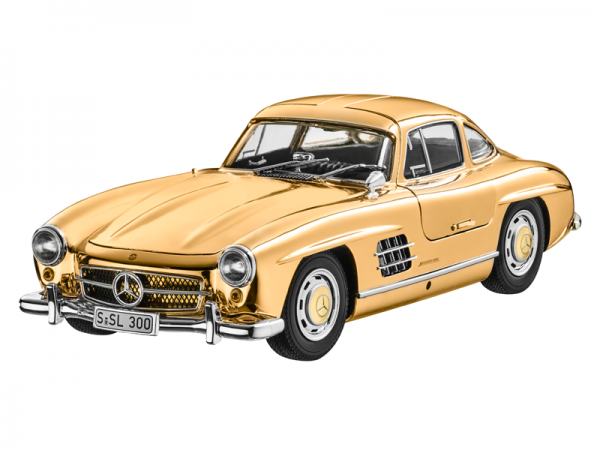 Mercedes-Benz 300 SL Coupé W198 (1954-1957) goldfarben 1:18