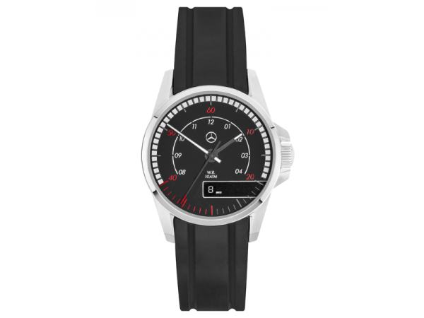 Mercedes-Benz Armbanduhr Herren Truck Collection schwarz/rot