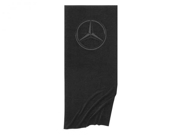 Mercedes-Benz Strandtuch Badetuch schwarz Baumwolle