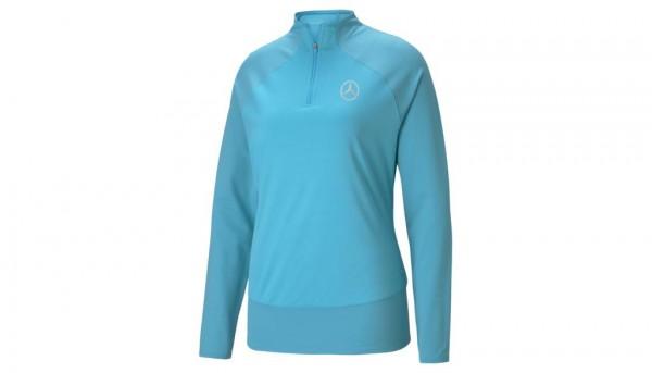 Mercedes-Benz Golf-Sweater Damen türkis
